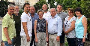 CDU Fraktion Parchim Gruppenbild